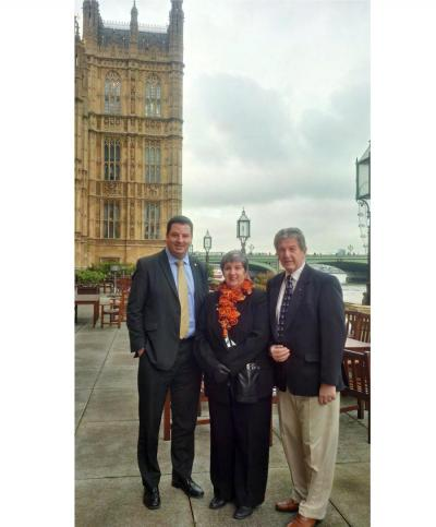 Mayor and Mayoress visit Parliament