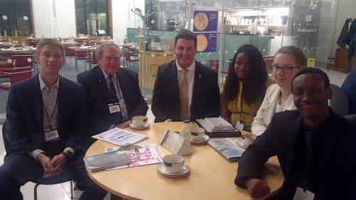 Andrew Meets to Discuss Living Wage
