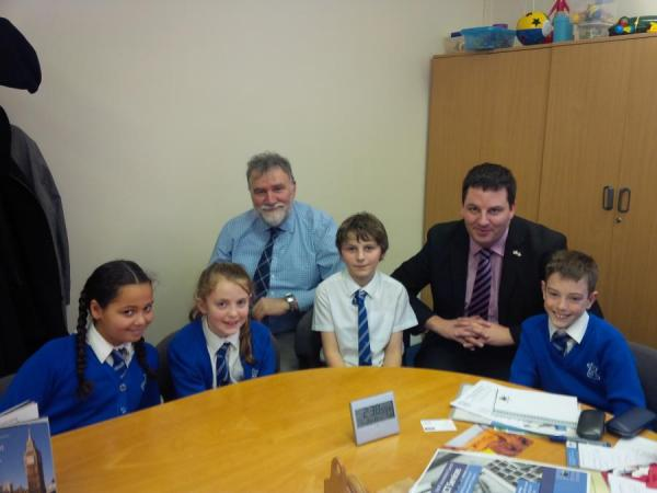 Visit to Brigg and St Mary's Primary