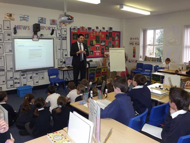 Alkborough Primary School Visit