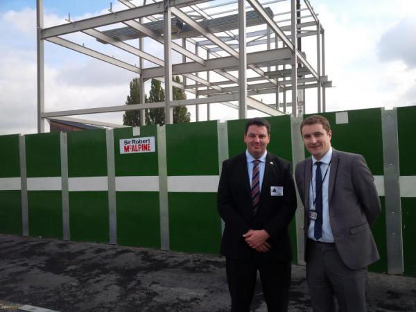 Andrew Visits Goole Academy