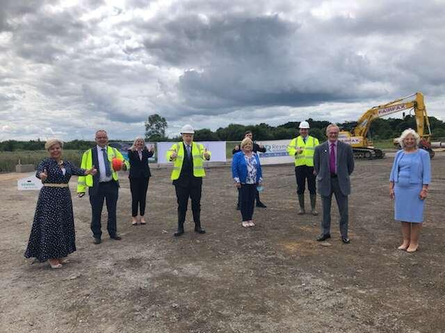 PM Visits Siemens Rail Factory Site at Goole 36