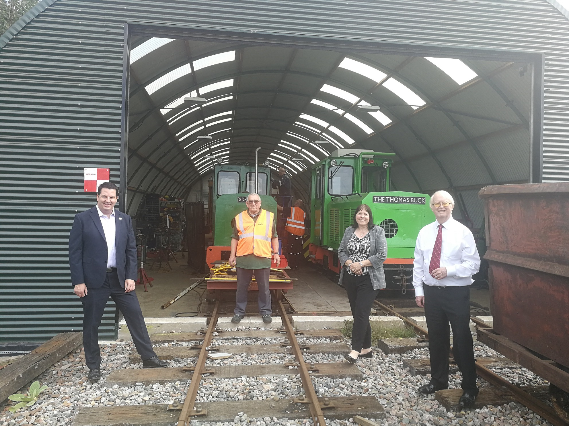 Crowle Peatland Railway - Funding Secured for New Tram