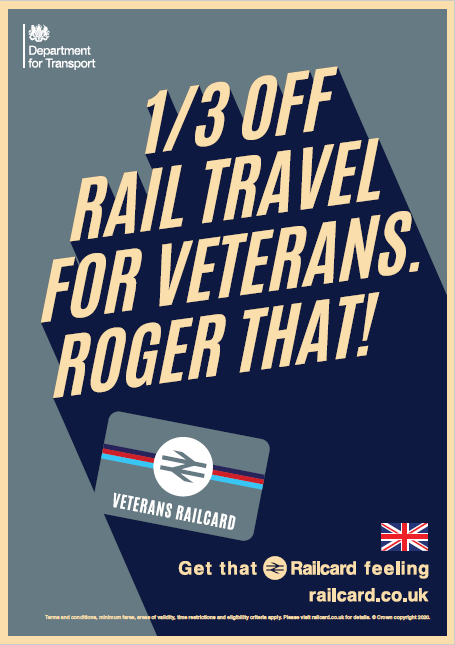 Veterans Railcard Launch