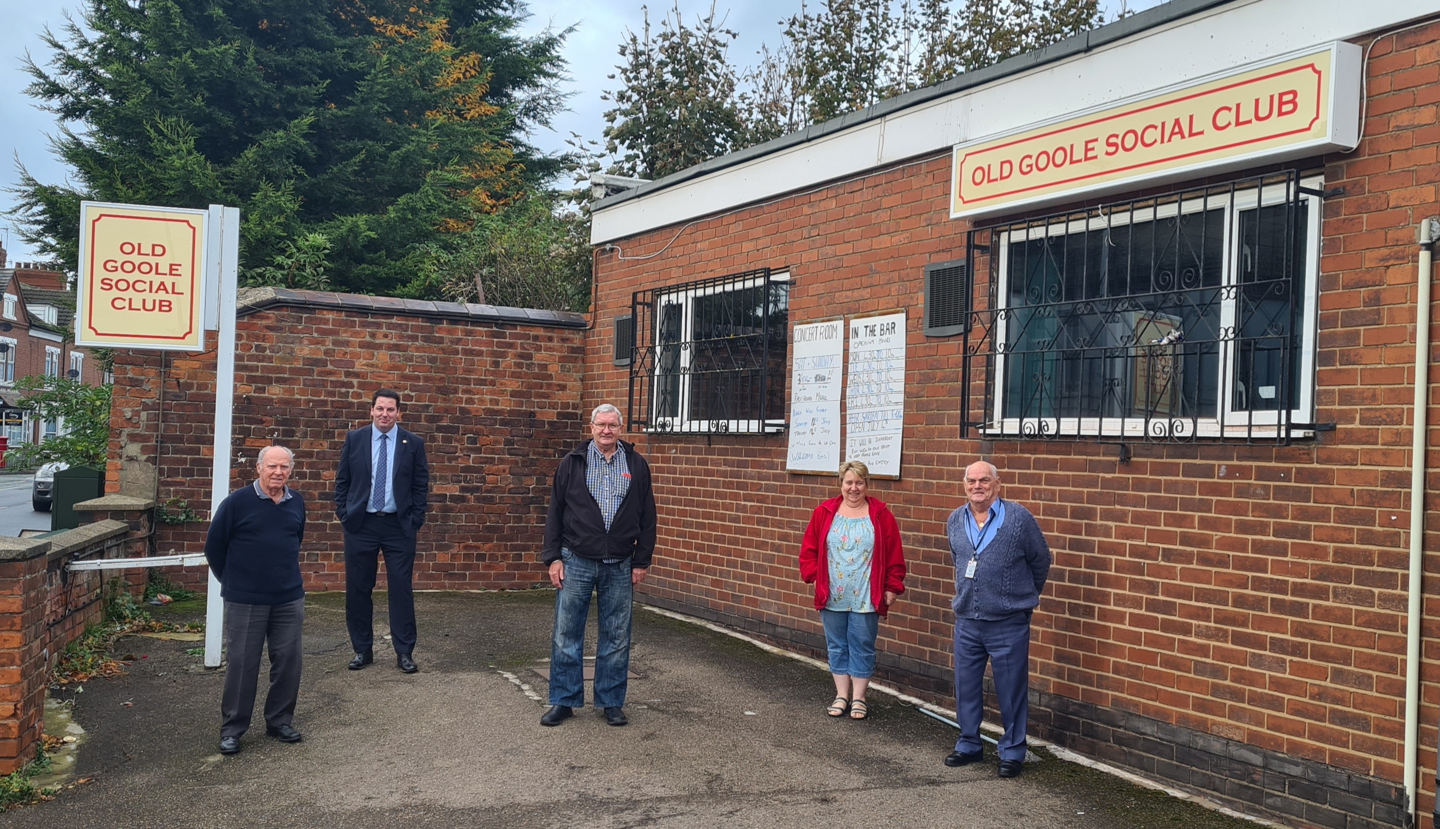 Old Goole Social Club Benefits from £6000 Investment