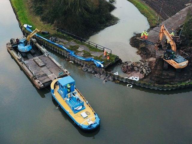 Further Canal Breach Update
