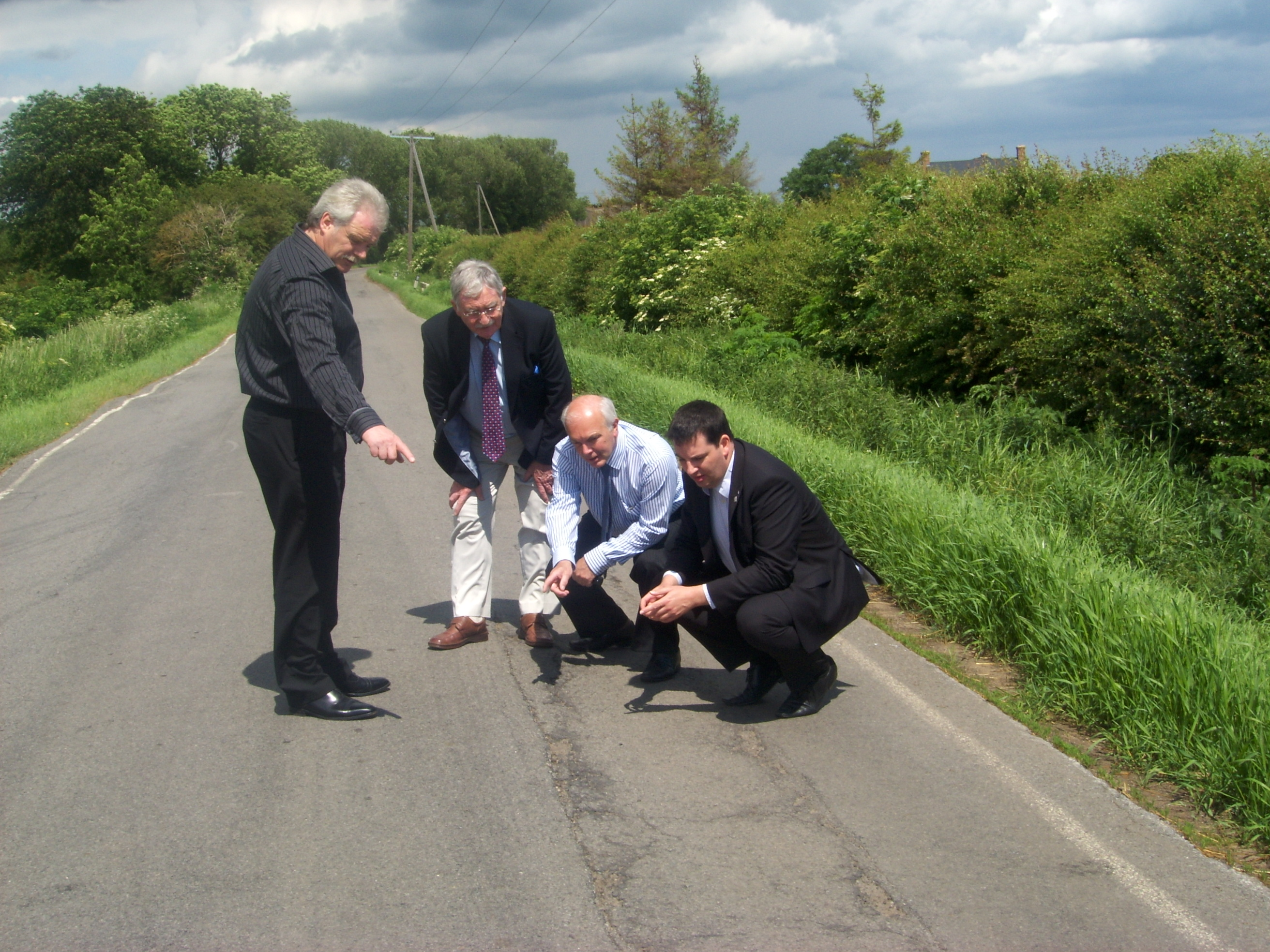Major Resurfacing Project on the A161 through the Isle to Begin Next Week