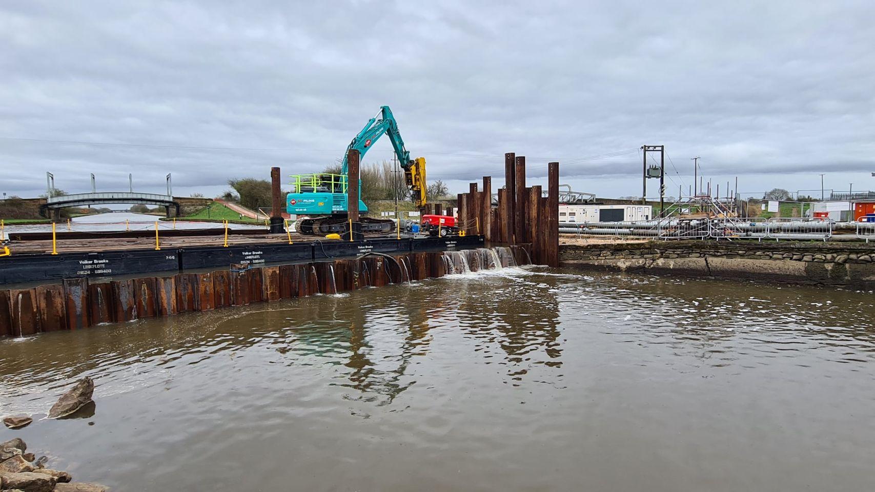 Aire and Calder Canal Breach Update