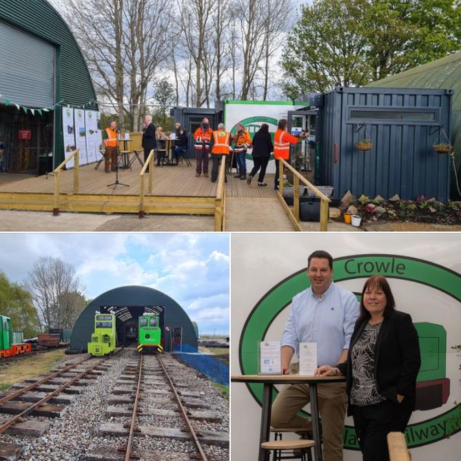 Crowle Peatland Railway Opening