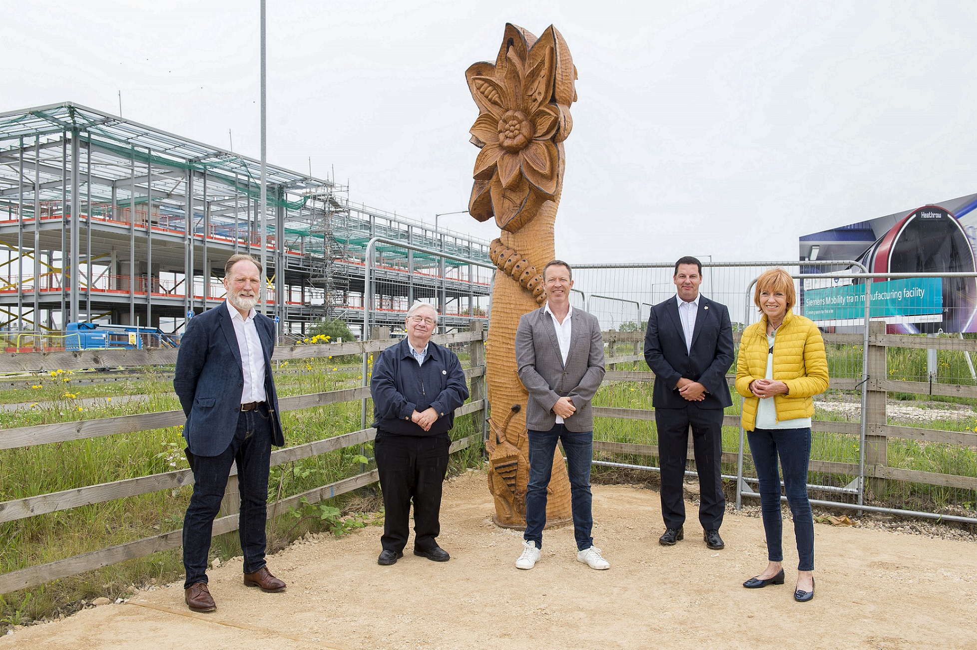 New Sculptures Installed at Oakhill Nature Reserve as Part of £300k Upgrade
