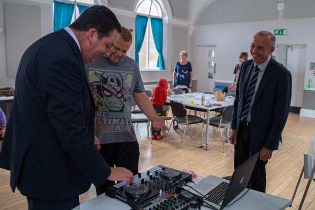 Beats Bus Workshop Visit